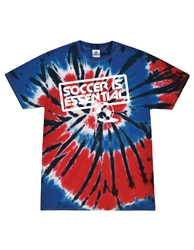 Soccer Is Essential Red, white & blue TD T