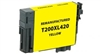 Epson 200XL Yellow Ink Cartridge (T200XL420), High Yield