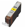 Canon CLI-221Y Yellow Ink Cartridge