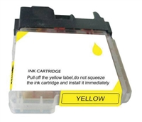 Brother LC65HYY Yellow Ink Cartridge, High Yield