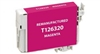 Epson 126 Magenta Ink Cartridge (T126320), High Yield