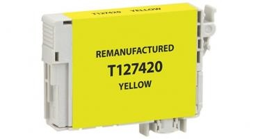 Epson 127 Yellow Ink Cartridge (T127420), Extra High-Capacity