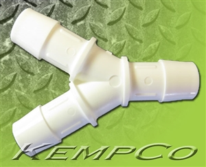 "5/8"" Y (WYE) Connector - White Poly"
