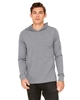Unisex Jersey Long-Sleeve Hoodie in Eco Gray