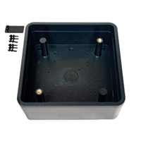 10BOX45SQSM - 4.5in. Square Surface Mounting Box for Push Plate Assy. - (BEA)