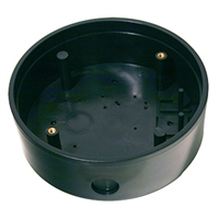 10BOX6RNDSM - 6in. Round Surface Mounting Box for Push Plate Assy. - (BEA)