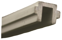 411795-4 -  4FT. Threshold Filler Strip (Clear Aluminum) - (Stanley)