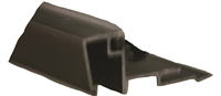 432472-4FT - 1/4in, Glass Stop Gutter w/Vinyl. (Dark Bronze) -  (Stanley)