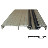 "5-11-4007-08 - 4 1/2""W Pin Guide FBO Threshold Includes Vinyl Inserts (Length 8 Feet) - (Record/KM 1100/5100)"