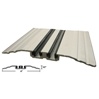 "515260 - 8FT LENGTH  (6"" x 1/2"") Threshold w/Vinyl Wear Strip (Clear) - (STANLEY)"