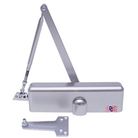 Door Controls 6115-AL - 6000 Premium Series - (ADA - ADJUSTABLE SPRING POWER 1-5) - Door Closer w/Cover (Aluminum Finish)