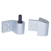 Door Controls 808LH-AL Intermediate Pivot - Left Hand (Aluminum Finish)
