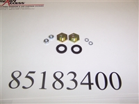 85183400 - Hanging Hardware Kit for Bi-parting Window (2 Adjustment Nuts) 131 / 600 / BO-10 - (Ready-Access)