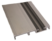 C2873A - 4ft. - 4in. FBO Bottom Guide Track w/Track Cap (4 FOOT) -CLEAR- (Horton 2000 Linear, Belt, 2001, 2003)
