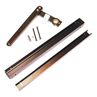 C4241-48B - Inswing Parallel Arm & Track Assy. - 48 Tooth - (DARK BRONZE) - (Horton)