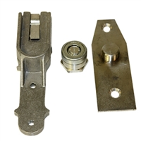 "20-1685 - ELA UP/P/EF Style Bottom Pivot Package for Threshold & Floor on Standard 1 1/2"" Deep Bottom Door Rails."