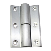 Door Controls DHK-10AL-BB Universal Storefront Door Hinge Kit - Non-Handed (Aluminum Finish)