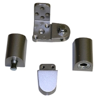 Door Controls OP14G-DUL US Aluminum Style Pivot Set - Left Hand (Dark Bronze Finish)