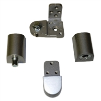 Door Controls OP14KM-DUR Pittco Style Pivot Set - Right Hand (Dark Bronze Finish)