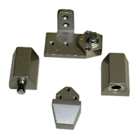Door Controls OP10-ALL VistaWall Style Pivot Set LH (Aluminum Finish)