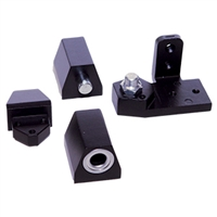 Door Controls OP10-DUR VistaWall Style Pivot Set RH (Dark Bronze Finish)