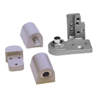 Door Controls OPKP-ALR Kawneer Style Pivot Set - Right Hand (Aluminum Finish)