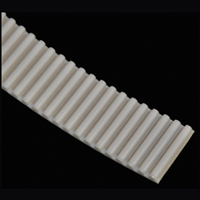 14-12114 /  V-00122 - Belt - WHITE URETHANE - (SOLD PER FOOT) - (NABCO/Gyrotech GT1175 CLEAN ROOM / TELESCOPIC after 11/2012)