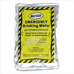 Emergency Drinking Water - Case of 100 Pouches