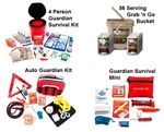 Family Preparedness Package w/ Food Storage