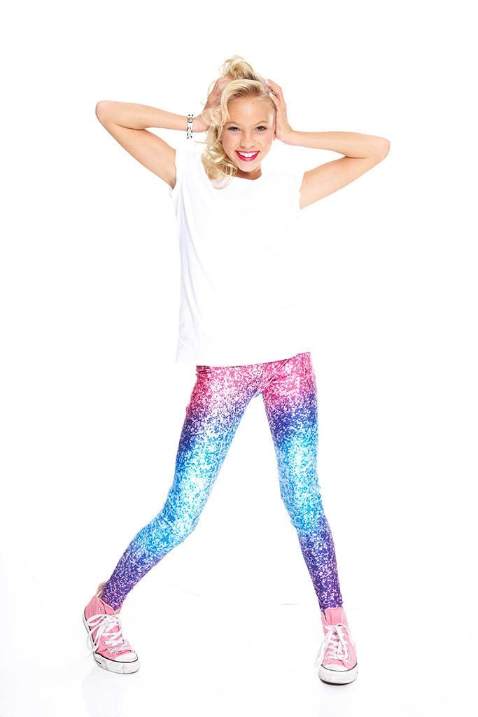 00b7c59613 Terez - Girls Glitter Mirror Leggings Larger Photo ...