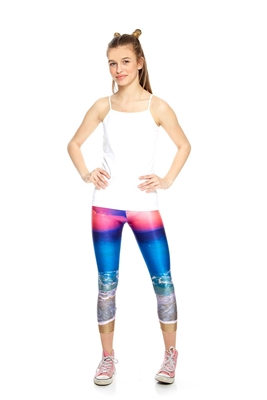 Terez - Girls Sunset Capri Leggings