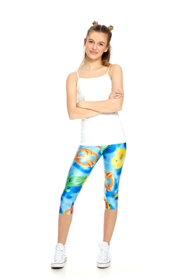 Terez - Girls Pool Floats Capri Leggings