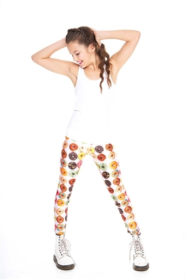 Terez - Girls Donuts Leggings