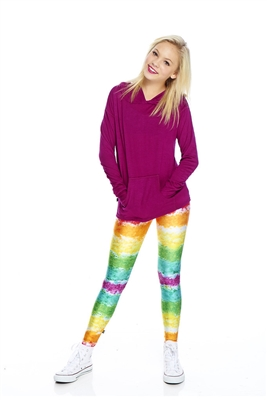 Terez - Girls Rainbow Cake Leggings