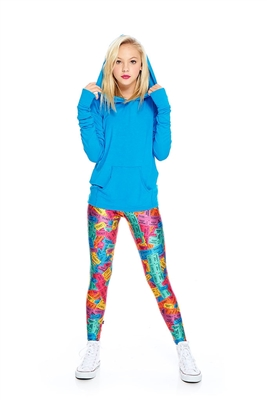 Terez - Girls Rainbow Tickets Leggings