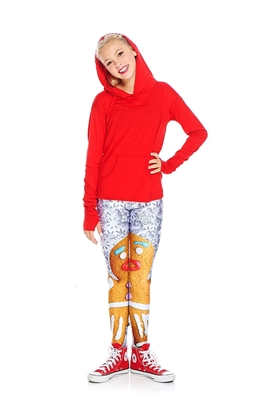 Terez - Girls Gingerbread Woman Leggings