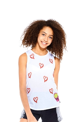 Terez - Girls Fry High Racerback Tank