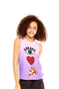 Terez - Girls I Heart Pizza Racerback Tank