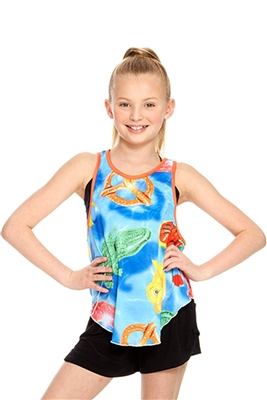 Terez Girls Pool Floats Racerback Tank