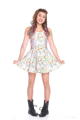 Terez Girls Emoji 2.0 Skater Dress