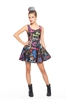 Terez Girls You Can Sit With Us Skater Dress