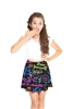 Terez Girls You Can Sit With Us Skater Skirt