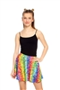 Terez Girls Emoji Rainbow Skater Skirt