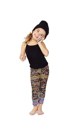 Terez Kids Emoji Leggings
