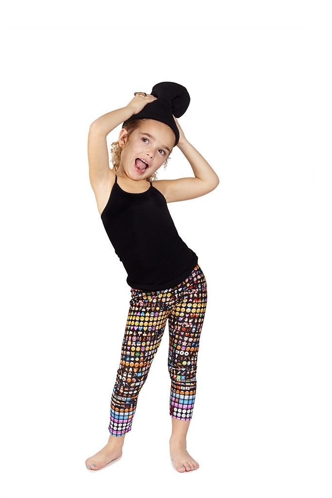 A thick fleece pair of leggings will keep her warm in the winter, while a pair of girls cropped leggings are great for summer activities. Shop a wide range of colorful leggings, including girls' black leggings, gold leggings, patterned leggings and more to suit your little one.