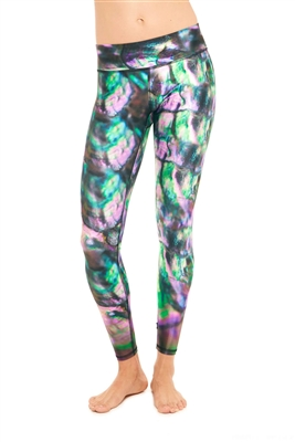 Terez Hippie Dippie Tall Band Leggings