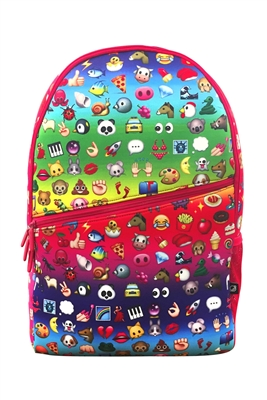 Terez Emoji Rainbow Backpack
