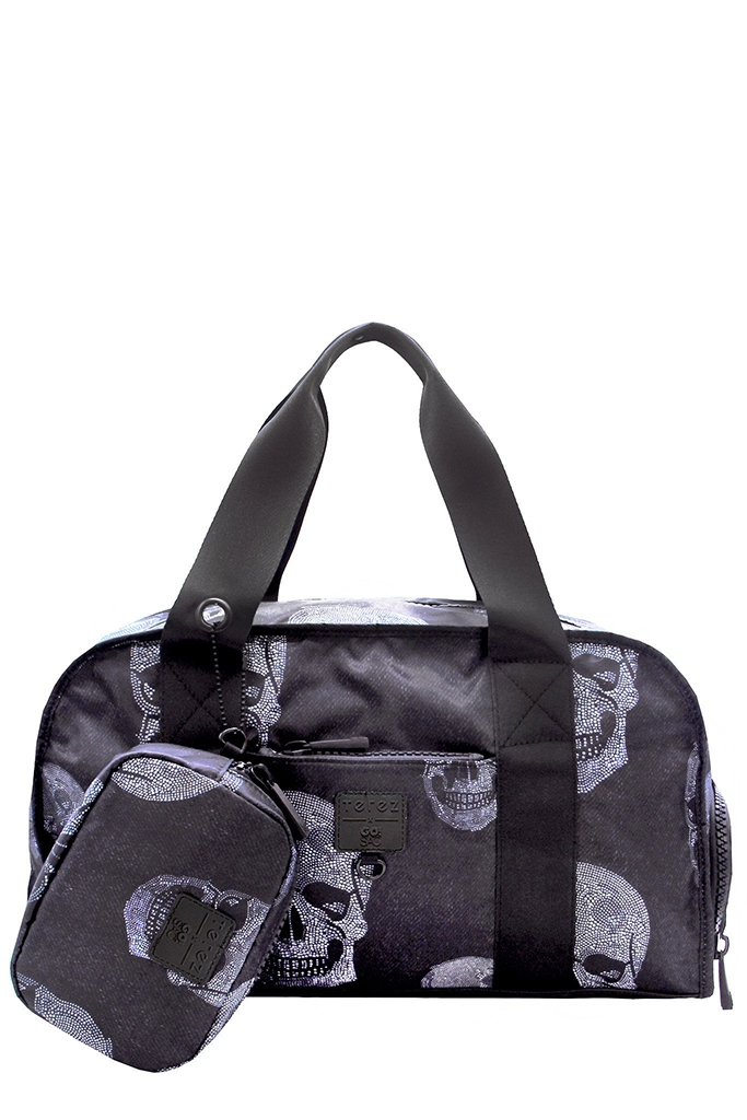 Terez - Go!Sac Crystal Skulls Duffle Bag be58b21d27060