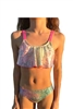 Hampton Mermaid Rainbow Ombre Sea Pebble Bikini