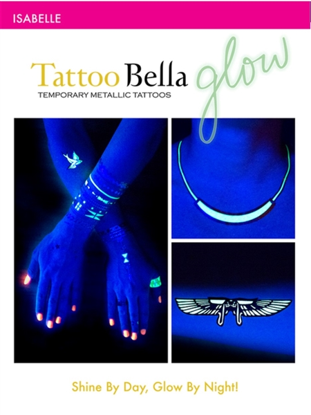 Tattoo Bella Temporary Metallic Tattoos - Isabelle Collection